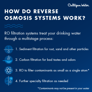 how do reverse osmosis systems work