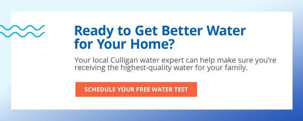 ready for better water - schedule an appointment