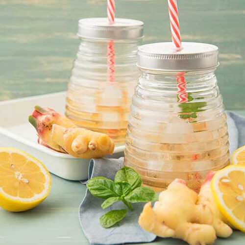 image of a ginger water recipe