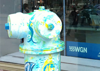 Great Chicago Fire Hydrants - Culligan Entry
