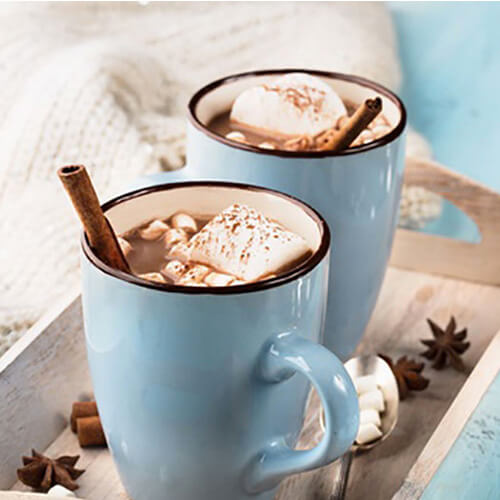 a warm drink for the winter