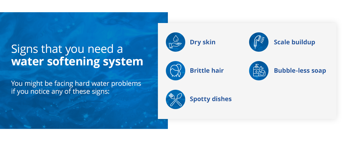 Signs That You Need A Water Softening System