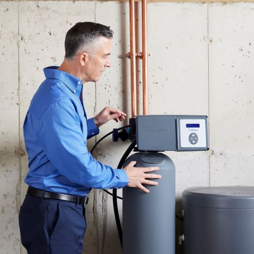 Culligan water expert with water softener